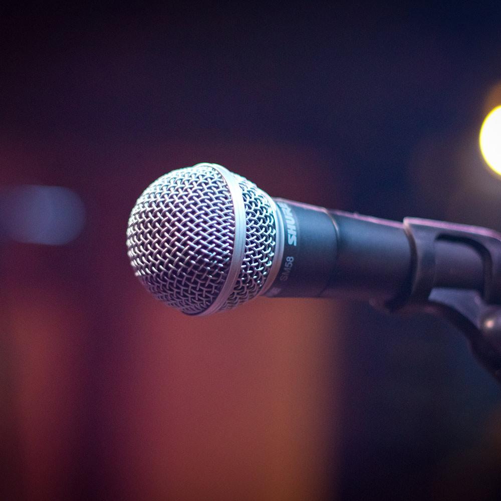 Open Microphone